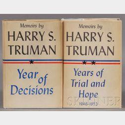 Truman, Harry (1884-1972), Signed copy
