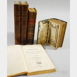 Five 18th and 19th Century Leather-bound Religion-themed Books