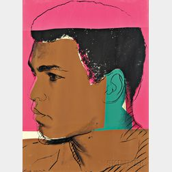 Andy Warhol (American, 1928-1987)      Plate 1   from MUHAMMAD ALI