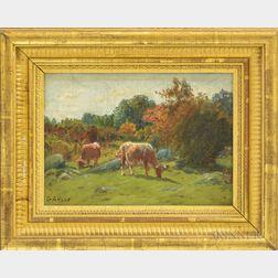 George Arthur Hays (American, 1854-1945)       Pasture at Saylesville