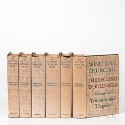 Churchill, Winston (1874-1965) The Second World War.