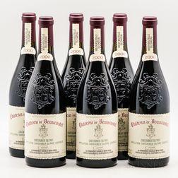 Chateau de Beaucastel Chateauneuf du Pape 2000, 6 bottles