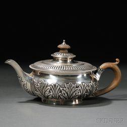 Regency Sterling Silver Teapot