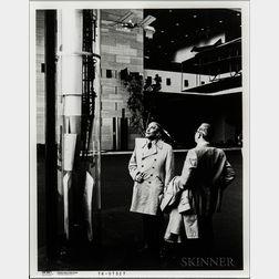 von Braun, Wernher, Five Photographs.