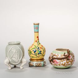 Three Royal Worcester Porcelain Items