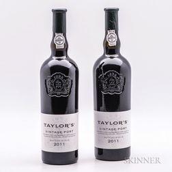 Taylors Vintage Port 2011, 2 bottles