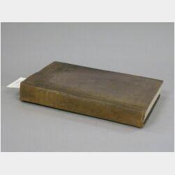 Edward Everett's copy of the Miscellaneous Writings of Joseph Story