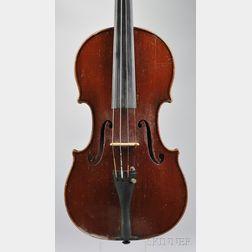 Modern Violin, Gebruder Schindler Workshop, c. 1900