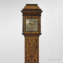 Michael Knight Thirty-day Seaweed Marquetry Longcase Clock