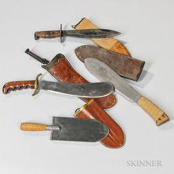 Four Military Blades