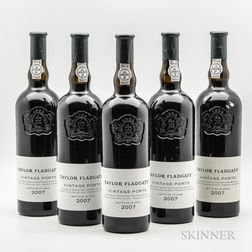 Taylors Vintage Port 2007, 5 bottles