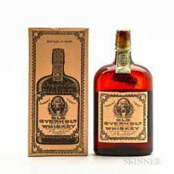 Old Overholt 11 Years Old 1921, 1 pint bottles (oc)