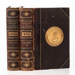 Grant, Ulysses S. (1822-1885) Personal Memoirs of U.S. Grant.