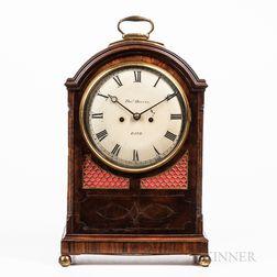 Mahogany Regency Bracket Clock
