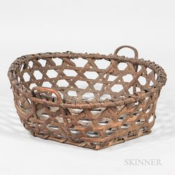 Splint Cheese Basket