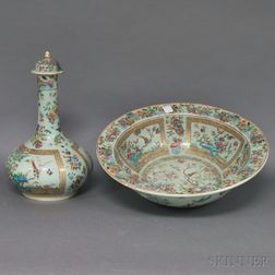 Two Enameled Items