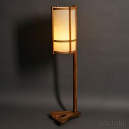 George Nakashima Floor Lamp