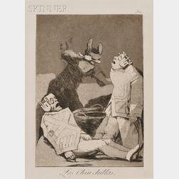 Francisco de Goya (Spanish, 1746-1828)      Los Chinchillas