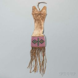Blackfeet Beaded Hide Pipe Bag