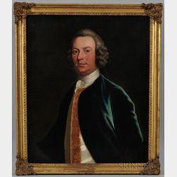 Thomas Hudson (England, 1701-1779)      Portrait of Mr. Tierney