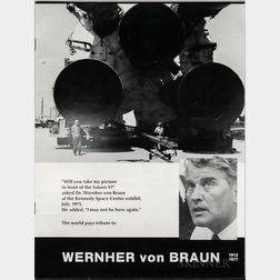von Braun, Wernher, Ephemera.