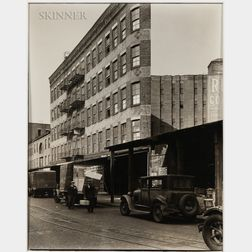 Berenice Abbott (American, 1898-1991)      Gansevoort Street, #53, Manhattan