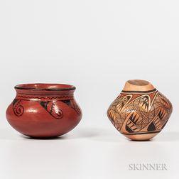 Two Southwest Pottery Vessels