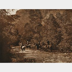 Photogravure by Edward S. Curtis (American, 1868-1952)