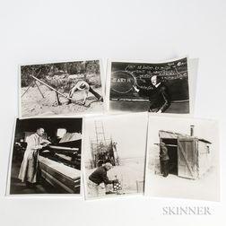 Goddard, Robert, Seventy-seven NASA Reprints of Vintage Photographs.