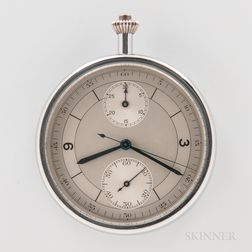 Very Rare and Unusual Pocket Chronograph