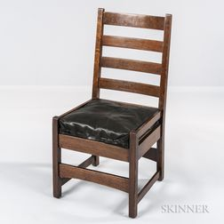 Gustav Stickley Side Chair
