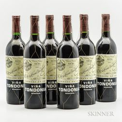R. Lopez de Heredia Vina Tondonia Reserva 2001, 6 bottles