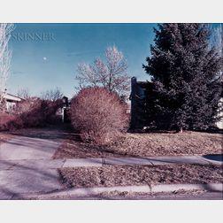Stephen Shore (American, b. 1947)      North Black Avenue, Bozeman, Montana