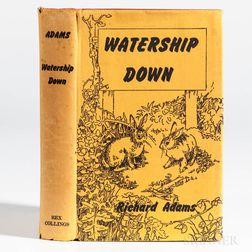 Adams, Richard (1920-2016) Watership Down  , First Edition.