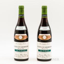 Henri Gouges Nuits St. Georges Les St. Georges 1989, 2 bottles