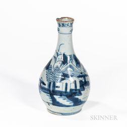 Canton Export Porcelain Water Bottle