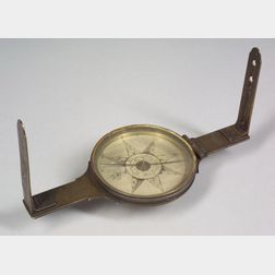Important Brass Surveyor's Compass by David Rittenhouse
