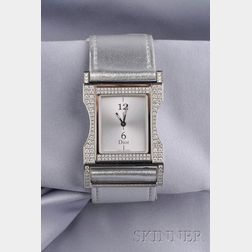 "Stainless Steel and Diamond ""Chris 47"" Watch, Christian Dior"