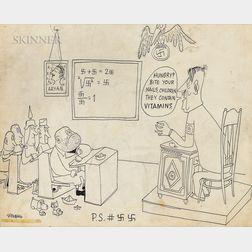 Saul Steinberg (American, 1914-1999)      Hungry?
