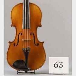 French Violin, Fournier, 1909