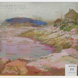 Ida Wells Stroud  (American, 1869-1944)      Boothbay Harbor