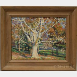 Tom Loepp (American, b. 1954)      Tree