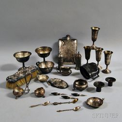 Group of Assorted, Mostly Sterling Silverware Tableware