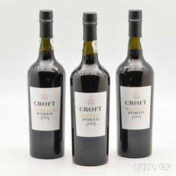 Croft Vintage Port 2003, 3 bottles