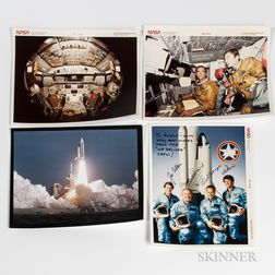 Space Shuttle Photographs and Other Images, 1974-1989, Approximately 200 Pieces.