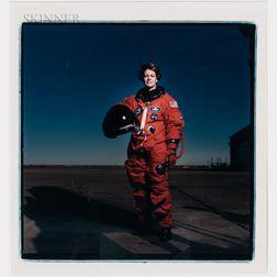 Annie Leibovitz (American, b. 1949)      Eileen Collins, Johnson Space Center, Houston