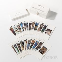 Boxed Set of Robert Rauschenberg (American, 1925-2008) Tribute 21   Cards