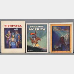 Film and Theater Programs (Early 20th Century).