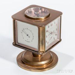 Turler Triple Calendar Desk Clock Compendium