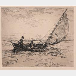 Frank Weston Benson (American, 1862-1951)      Bound Home